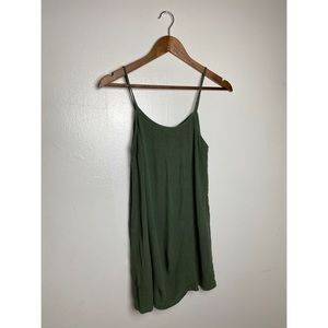 4/$25 | Forever 21 Green Tank Top